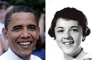 Obama and his mom